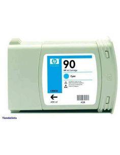 Tinta HP 90 Cian C5061A (400ml)