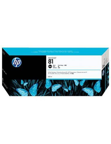 Tinta HP 81 Negro C4930A (680 ml)