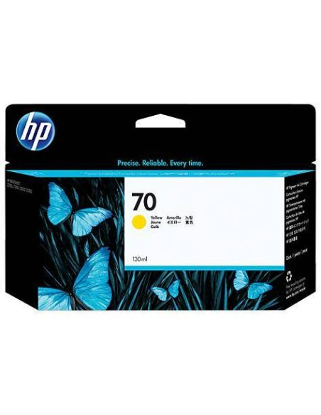 Tinta HP 70 Amarillo C9454A (130ml)