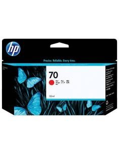 Tinta HP 70 Rojo C9456A (130ml)