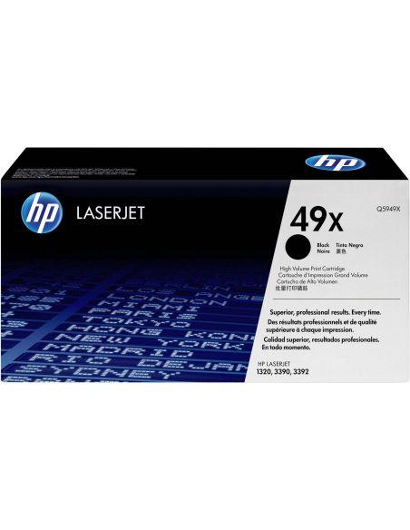 Tóner HP 49X Negro q5949x (6000 Pag) para Laserjet 1320 3390