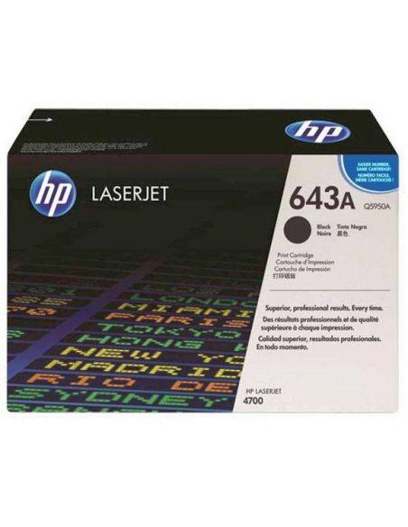 Tóner HP 643A Negro Q5950A (11000 Pag) para Laserjet 4700