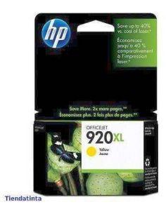 Tinta HP CD974AE Amarillo Nº920XL (700 pag) Original
