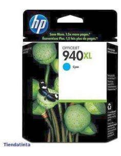 Tinta HP C4907AE Cian Nº940XL (16ml)(1400 Pag) Original