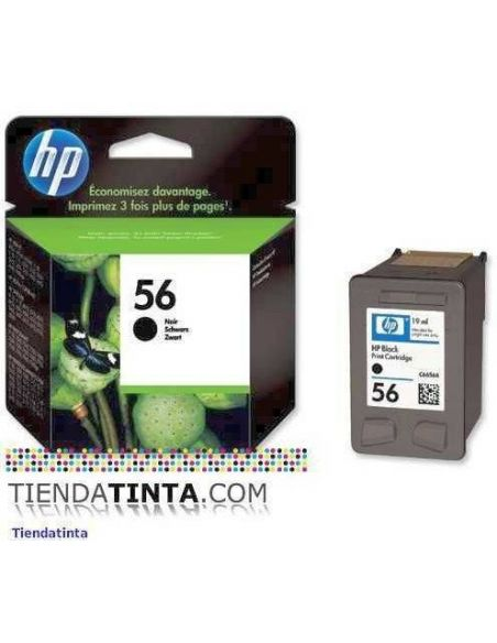 Tinta HP 56 Negro (19ml)(520 Pág)
