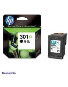 Tinta HP CH563EE Negro Nº301XL (8ml) (480 Pag) Original