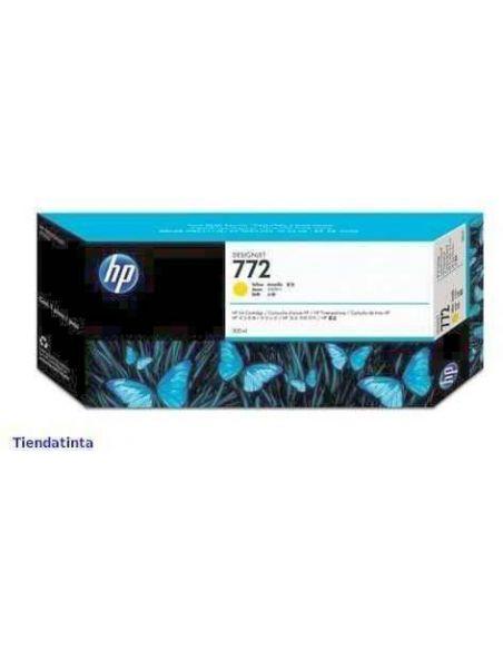 Tinta HP 772 Amarillo (300ml)