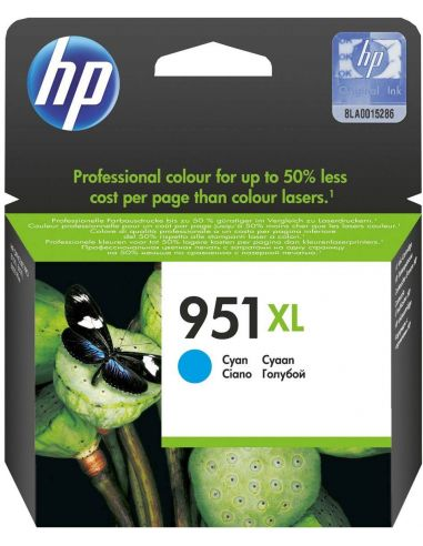 Tinta HP CN046AE Cian Nº951XL (1500 Pag) Original