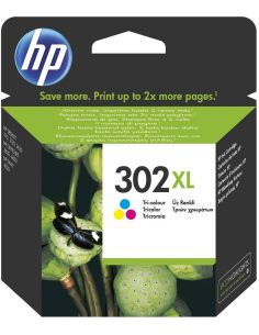 Tinta HP F6U67AE Color Nº302XL (330 pag) Original