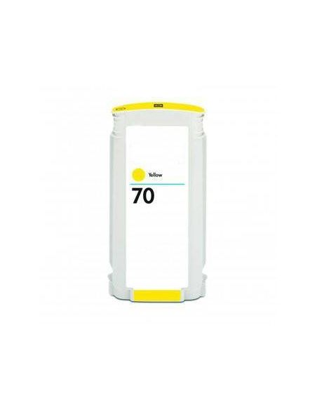 Tinta para HP 70 Amarillo C9454A (130ml) No original