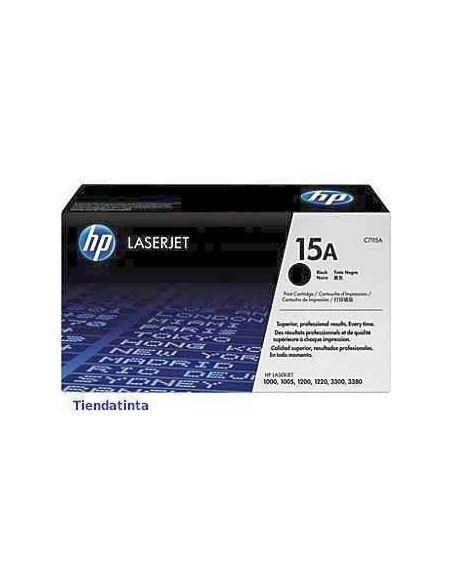 Tóner HP 15A Negro C7115A (2500 Pag) para Laserjet 1000 3300