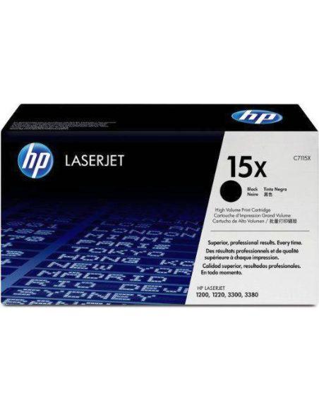 Tóner HP 15X Negro C7115X (4000 Pag) para Laserjet 1000 3300