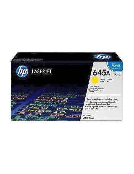 Tóner HP 645A Amarillo c9732a para Laserjet 5500 5550