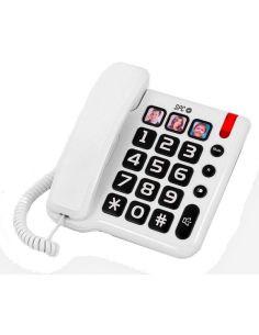Teléfono Comfort Numbers SPC Blanco 3294