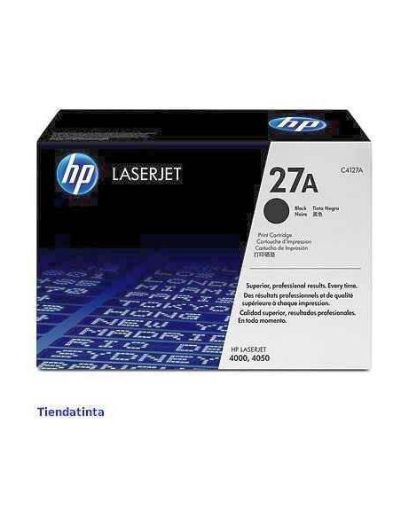Tóner HP 27A negro C4127A para Laserjet 4000 4050