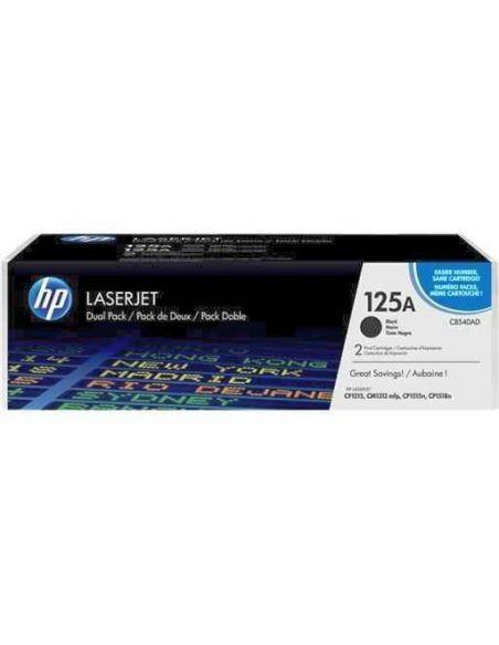 Pack tóner HP 125A Negro CB540AD para LaserJet CM1013 CM1300