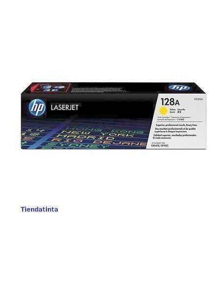 Tóner HP 128A AMARILLO (1300 Pag) para CM1415 y mas