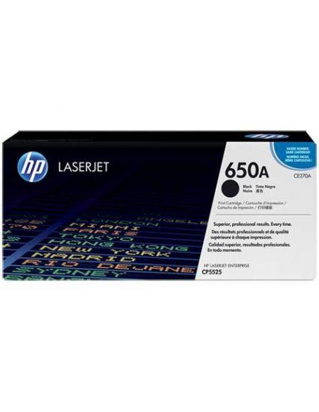 Tóner HP 650A Negro (13500 Pag) para CP5520 y mas