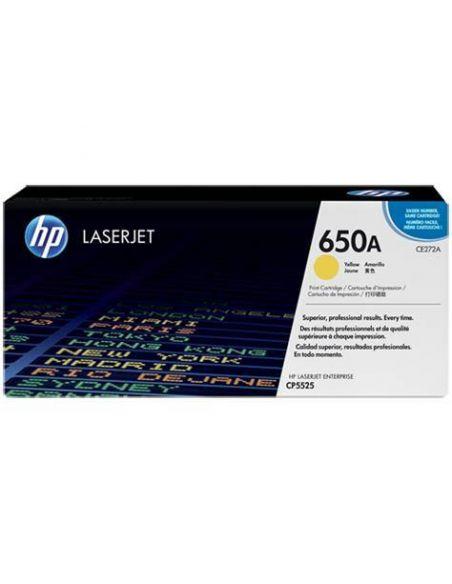 Tóner HP 650A Amarillo (15000 Pag) para CP5520 y mas