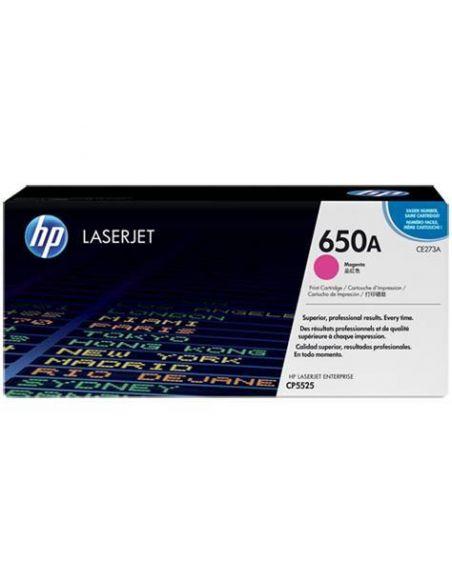 Tóner HP 650A Magenta (15000 Pag) para CP5520 y mas