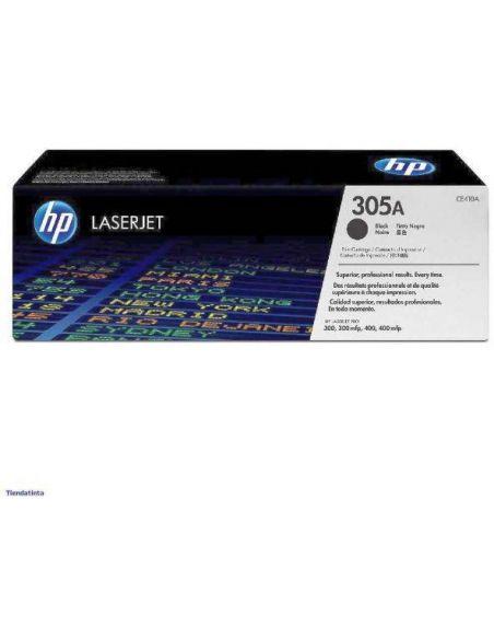 Tóner HP 305A Negro CE410A para Laserjet Pro 300 M351 Pro 400 M451
