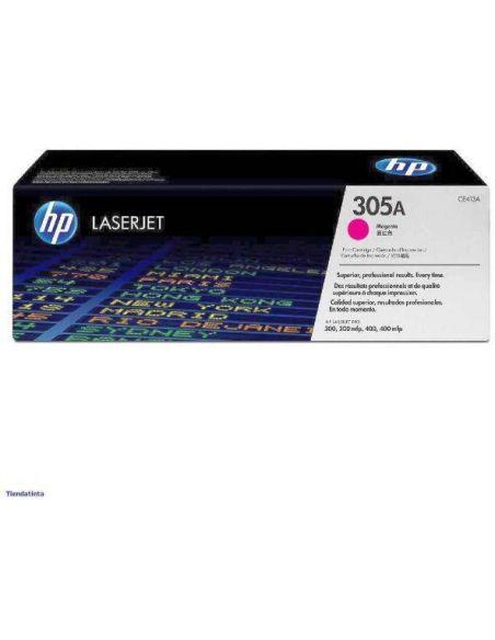 Tóner HP 305A Magenta CE413A para Laserjet Pro 300 M351 Pro 400 M451