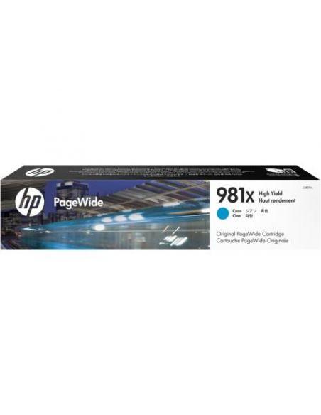 Tinta HP 981X Cian L0R09A (10000 páginas)