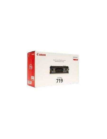 Tóner Canon 719BK Negro (2100 Pag) para LBP6300 y mas