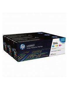 Toner Pack HP CF372AM COLOR Nº304A (2800 pag) Original