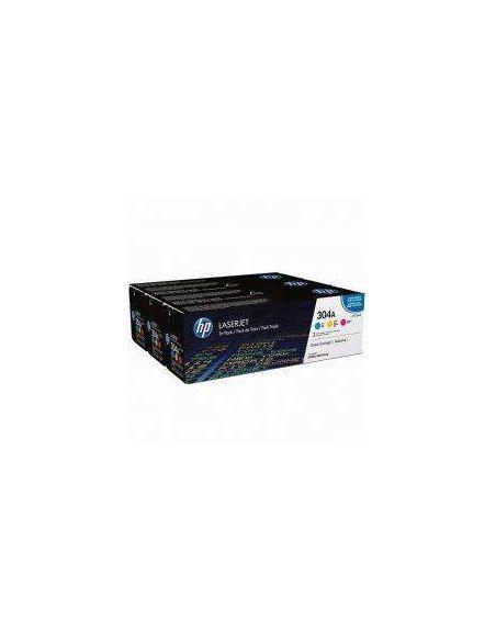 Pack tóner HP 304A Multicolor (2800 Pag) para CM2320 y mas