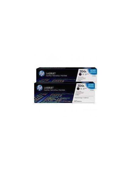 Pack tóner HP 304A Negro (3500 Pag) para CM2320 y mas