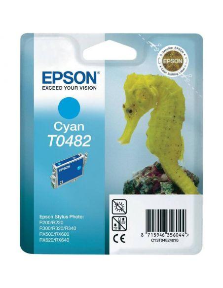 Tinta Epson T0482 Cian C13T048240