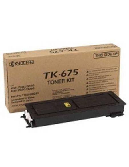 Tóner Kyocera TK-675K Negro 1T02H00EU0 para KM-2540 3040