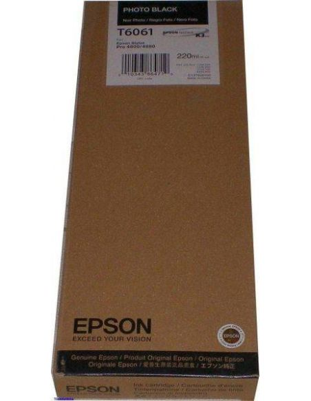 Tinta Epson T6061 Photo Negro (220ml)
