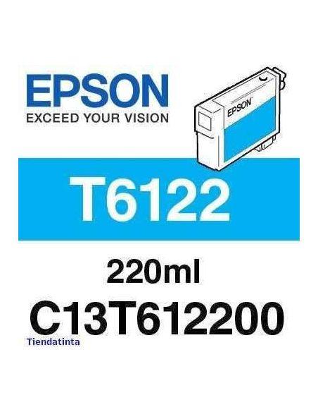 Tinta Epson T6122 Cian (220ml)