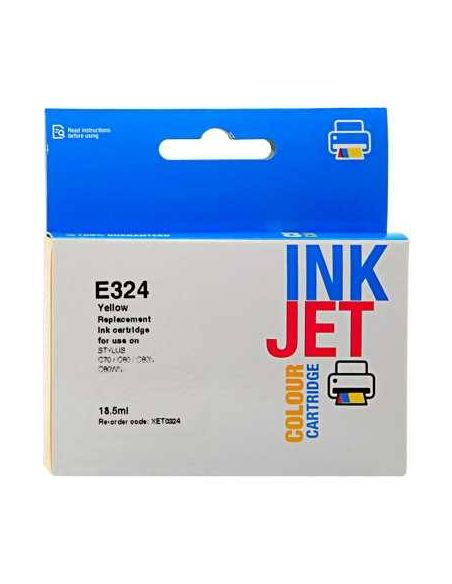 Tinta para Epson T0324 Amarillo (18ml) No original