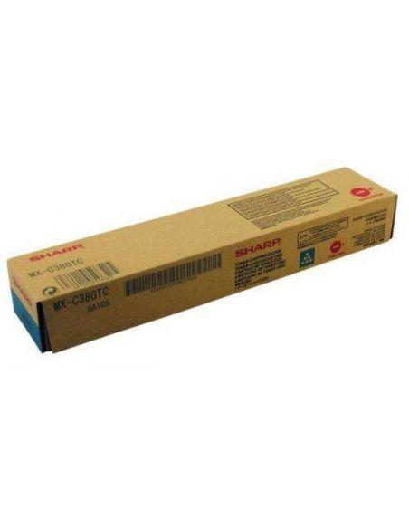 Tóner Sharp MX-C38GTC Cian (10000 Pag) para MXB380 MXB401