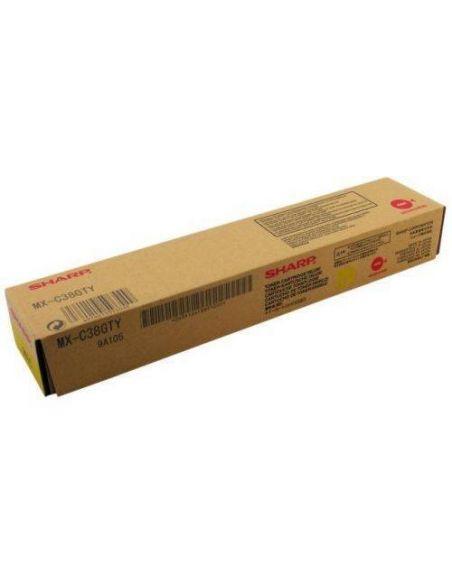 Tóner Sharp MX-C38GTY Amarillo (10000 Pag) para MXB380 MXB401