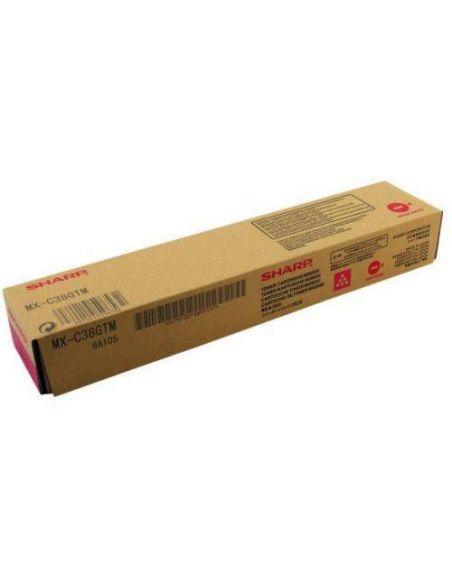 Tóner Sharp MX-C38GTM Magenta (10000 Pag) para MXB380 MXB401