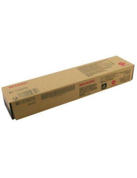 Tóner Sharp MX-C38GTB Negro (10000 Pag) para MXB380 MXB401
