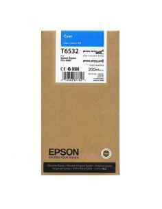 Toner Epson T6532 Cian (200ml) Original