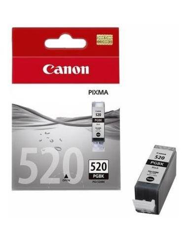 Tinta Canon 2932B011 Negro PGI-520PGBK (345 Pag) 19ml Original