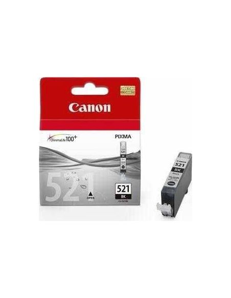 Tinta Canon 521BK Negro 2933B008 (9ml)
