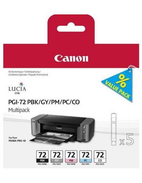 Tinta Canon PGI-72PBK/GY/PM/PC/CO 6403B007