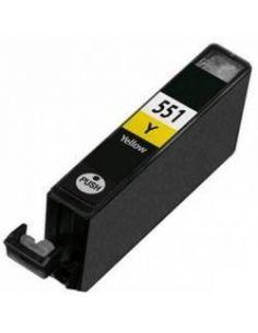 Tinta para Canon 6446B001 Amarillo CLI-551Y XL (13ml)(No original)