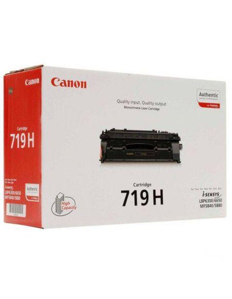 Tóner Canon 719H Negro para LBP5840 LBP6300