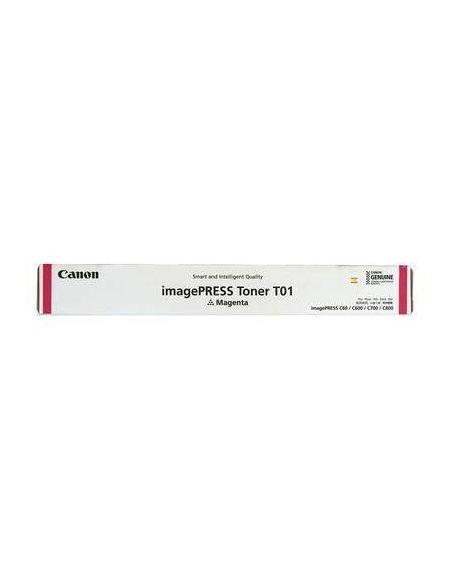 Tóner Canon T01 Magenta para ImagePress C600 C700