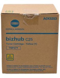 Toner Konica Minolta A0X5253 Amarillo TNP27Y (4500 Pag) Original