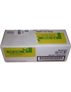 Toner Kyocera 1T02HLAEU0 Amarillo TK-540Y (4000 pag) Original