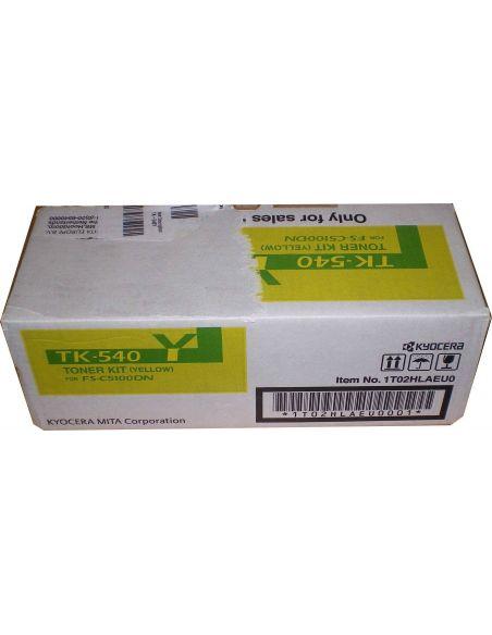 Tóner Kyocera TK540Y Amarillo (4000 Pag) para FSC5100